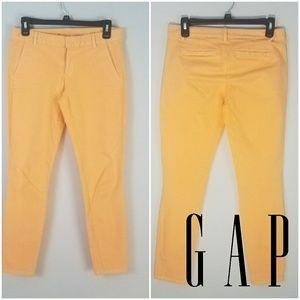 ❤️️Sale❤️️ GAP   Orange Creamsicle Skinny Khakis
